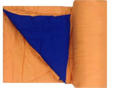 Portico New York Stellar Plain Double Quilts & Comforters Orange, Royal Blue