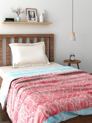 Raymond Abstract Single Quilts & Comforters Pink(Quilt)