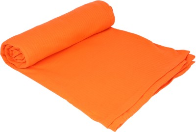 MOS-QUIT-O Checkered Single Blanket Orange