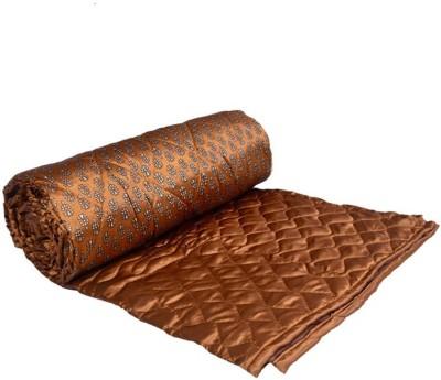 OM PRINTS Self Design Double Quilts & Comforters Multicolor