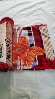 Assorted Mink Floral Double Blanket Multicolour