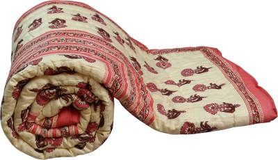 Buy Clues Paisley Double Quilts & Comforters Multicolor