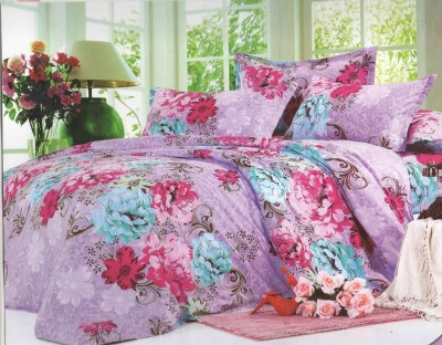 Skilin Floral Double Quilts & Comforters Multicolor