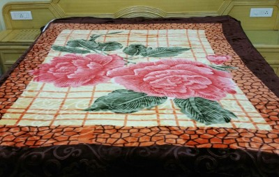 N decor Floral Single Blanket Multicolor