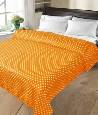 Peponi Geometric Double Blanket Orange