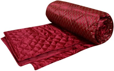 Rangasthali Abstract Double Quilts & Comforters Red
