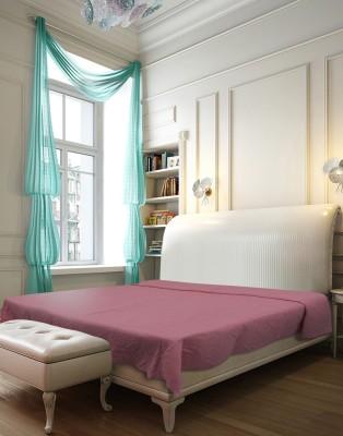 Needlecrest Plain Queen Quilts & Comforters Pink