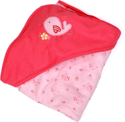 Baby Bucket Cartoon Single Blanket Red