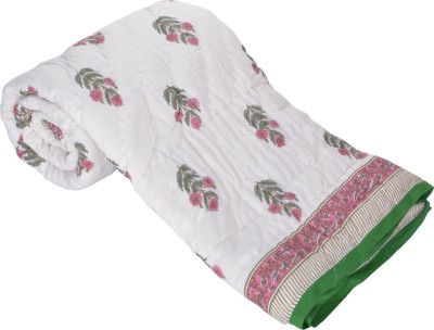 Prakruti Floral Double Quilts & Comforters Multicolour
