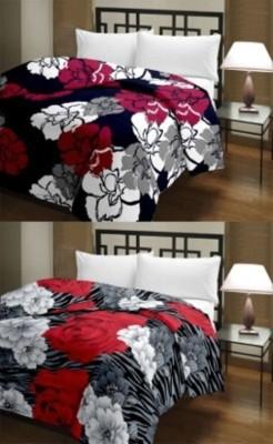 IDESIGN Floral Single Dohar Multicolor