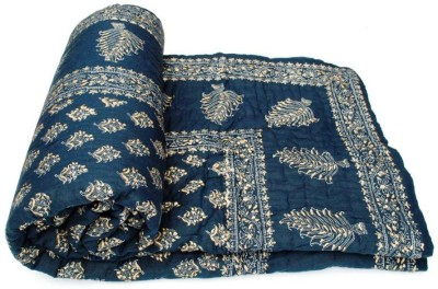 Sudharaj Paisley Single Blanket Blue
