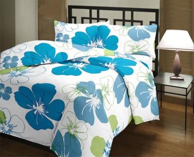Factorywala Floral Single Dohar Blue