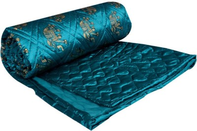 Home Shop Gift Animal Double Quilts & Comforters Green