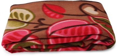 Story @ Home Floral Double Blanket Beige