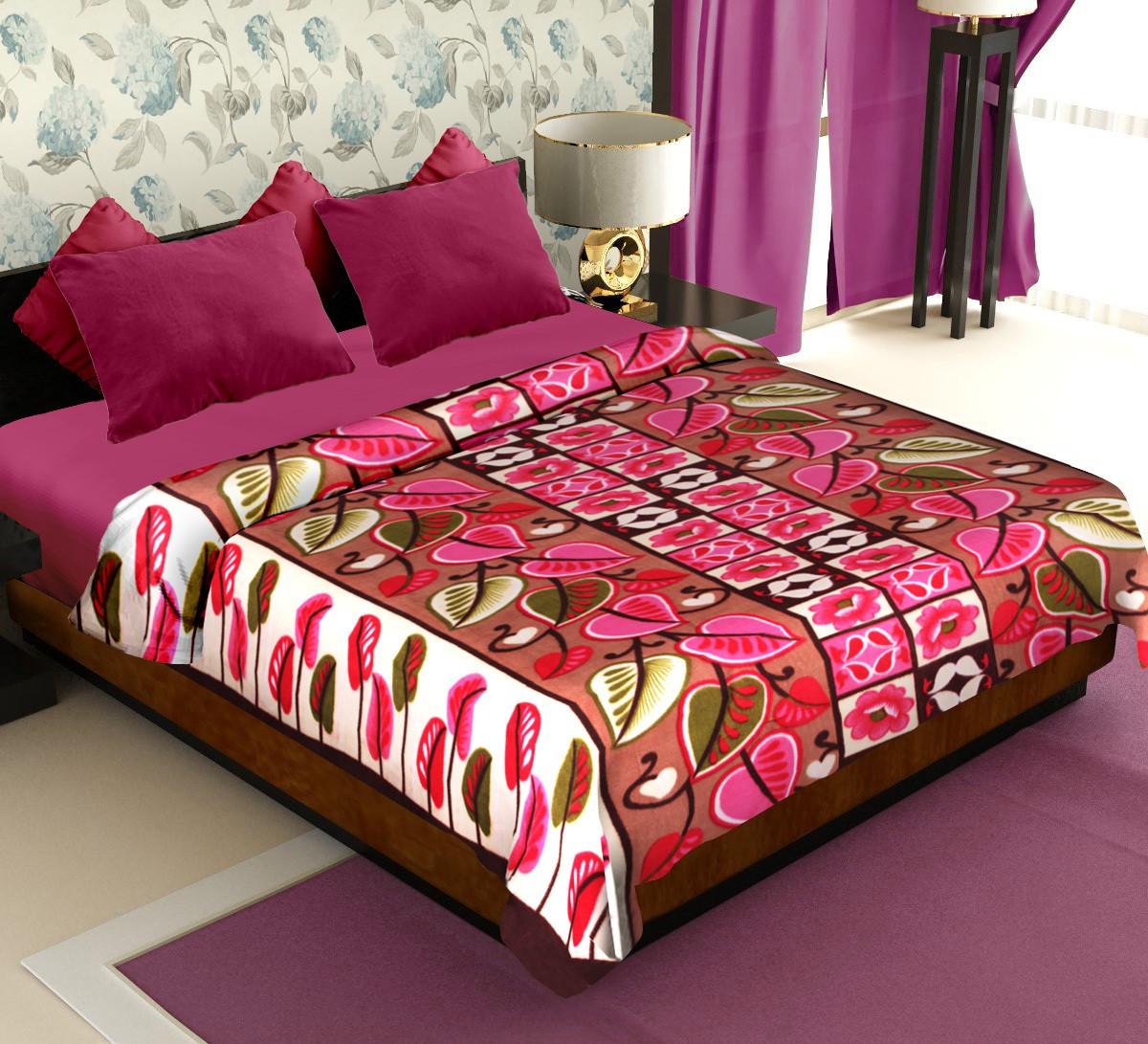 Flipkart - Double Fleece Blankets  Just @ Rs.399