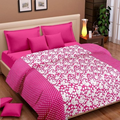 Cortina Floral Single Dohar Pink