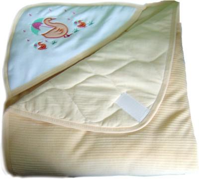 Tiny Care Checkered Single Blanket Yellow