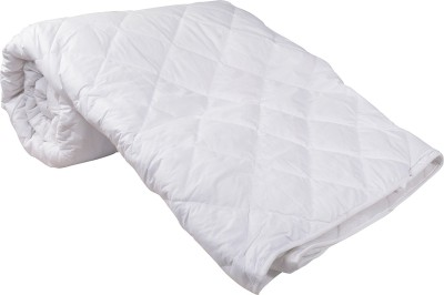 Blankets World Plain Double Quilts & Comforters White