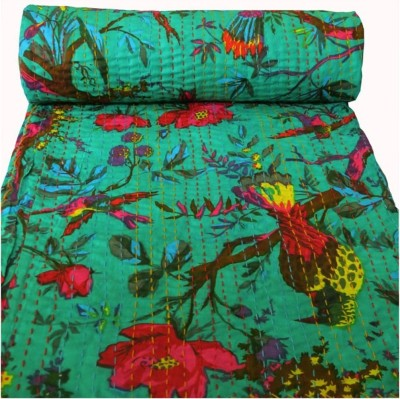 HAG Art and Craft Abstract Queen Quilts & Comforters Light Green