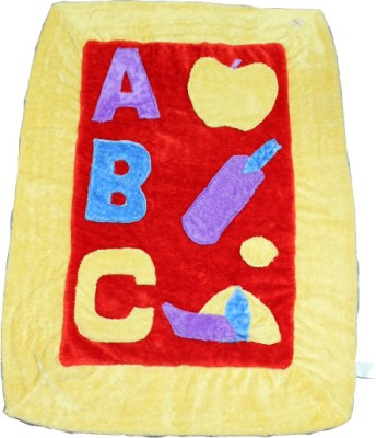 Just Pinto's Cartoon Single Quilts & Comforters Yellow, Red