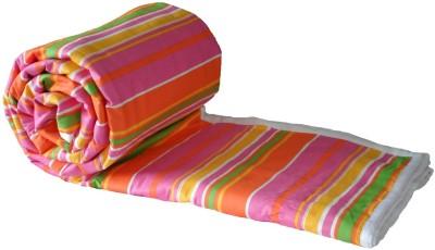 Snuggle Striped Double Dohar Multicolor