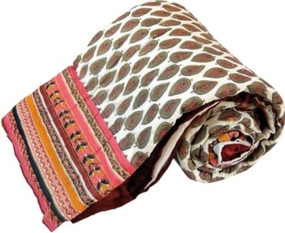 Ruchiworld Floral Double Quilts & Comforters Multicolor