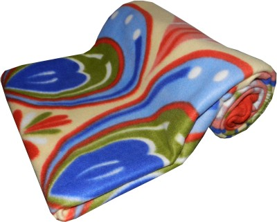 Expressions Abstract Single Blanket Multicolor