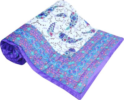 Factorywala Printed Single Quilts & Comforters Purple