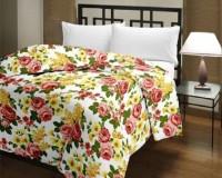 Blanket Bazaar Floral Single Dohar Multicolor(AC Dohar, Blanket)