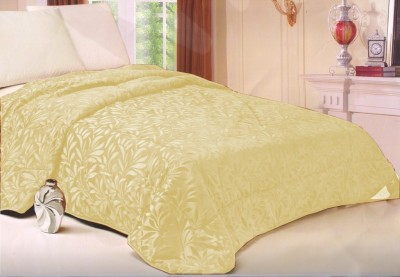 Welhouse Floral Single Quilts & Comforters Beige