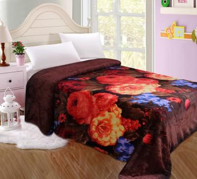 SANAYA Floral Single Blanket Multicolor