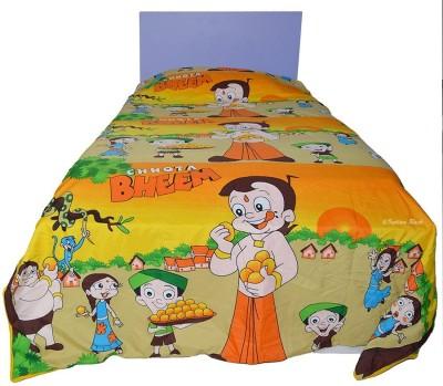 Indian Rack Printed Single Dohar Multicolor