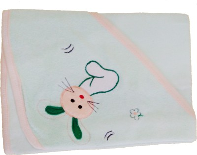 Kandy Floss Animal Single Blanket Green