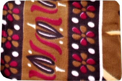 Shamrock Floral Single Blanket Multicolor