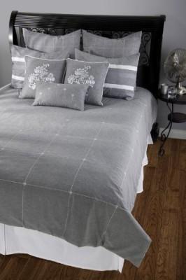 Rizzy Home Plain Grey