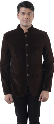 Lee Marc Solid Single Breasted Party Men's Blazer
