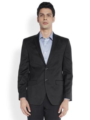 Park Avenue Solid Single Breasted Formal Men's Blazer