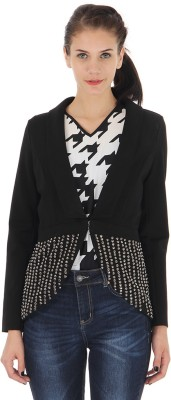 Vero Moda Embellished Single Breasted Casual Womens Blazer