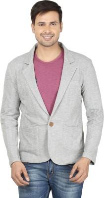 Ruse Self Design Single Breasted Casual Men's Blazer
