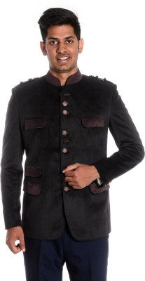Idlindia Solid Single Breasted Lounge Wear, Party Men's Blazer