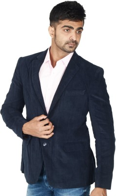 Easies Solid Single Breasted Casual Men's Blazer