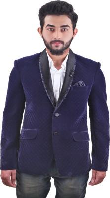 FashionSeva Solid Single Breasted Festive, Casual, Party Men's Blazer