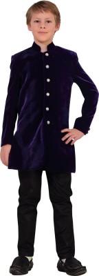 Little Bull Solid Tuxedo Style Festive Boy's Blazer