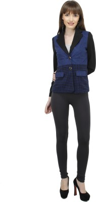 Pab Jules Checkered Single Breasted Formal Women's Blazer