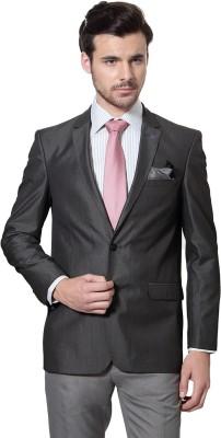 Allen Solly Solid Double Breasted Formal Men's Blazer