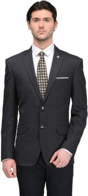 Canary London Solid Single Breasted Casual Men's Blazer