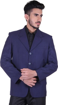 Protext Solid Single Breasted Casual, Festive, Formal, Lounge Wear, Party, Sports, Wedding Men's Blazer