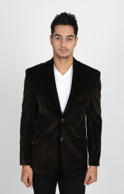 Jogur Solid Single Breasted Casual Men's Blazer