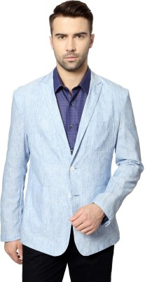 Peter England Printed Single Breasted Casual Men's Blazer