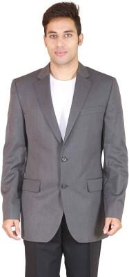 Rhydon Solid Single Breasted Formal Men's Blazer